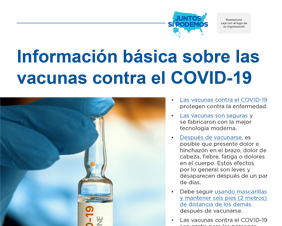 Essential Information on COVID-19 Vaccines — Spanish