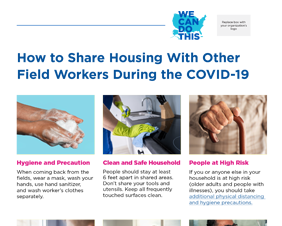 How to Share Housing With Other Field Workers During the COVID-19 Pandemic