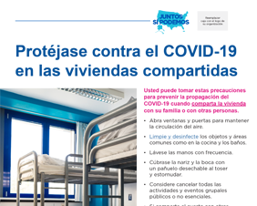 Protect Yourself Against COVID-19 in Shared Housing — Spanish