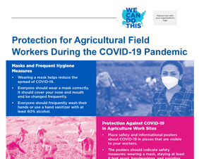 Protection for Agricultural Field Workers During the COVID-19 Pandemic