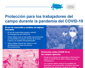 Protection for Agricultural Field Workers During the COVID-19 Pandemic — Spanish