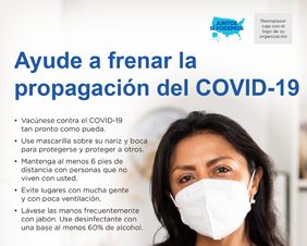 Help Slow the Spread of COVID-19 for Community Health Workers — Spanish