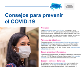 Tips to Slow The Spread of COVID-19 for Community Health Workers — Spanish