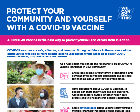 Protect Your Community and Yourself With a COVID-19 Vaccine